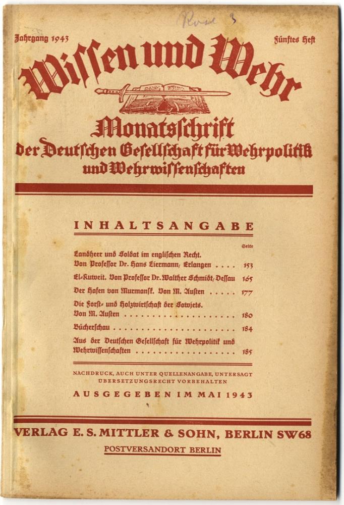 monatszeitschrift des deutschen rechts